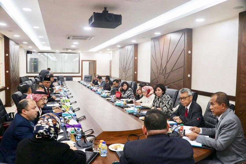 DPR RI Indonesia Parliament Jordan Arsia news