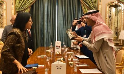 Indonesian Finance Minister and Saudi Arab Finance Minister